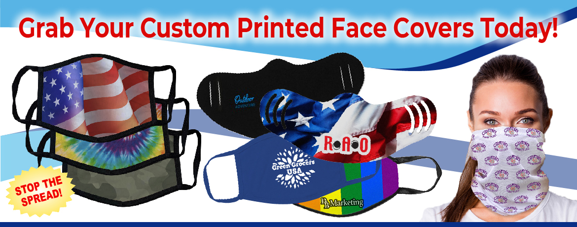 Custom Printed Face Covers