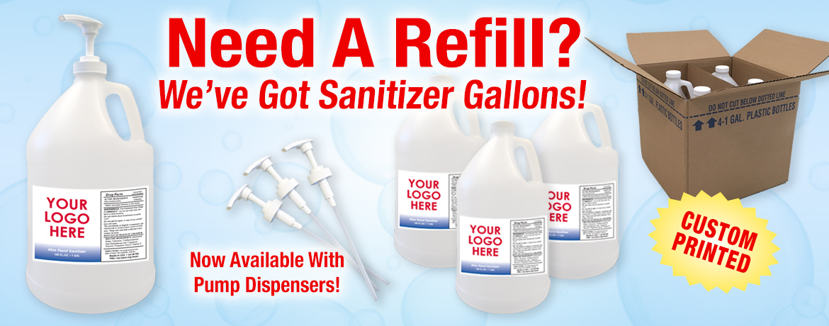 Hand Sanitizer Gallons