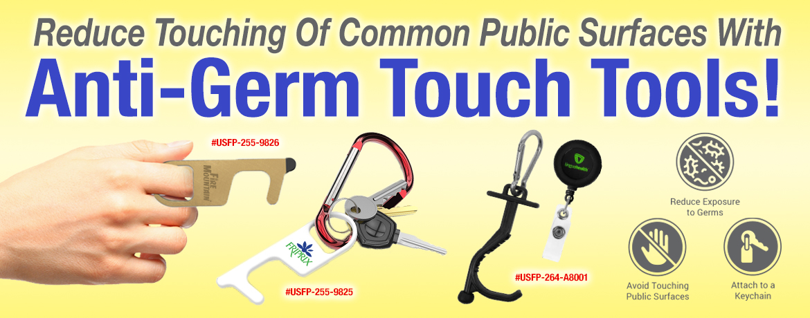 Anti-Germ Touch Tools